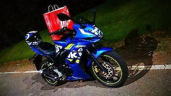 #MySweetyMCB #suzuki  #gixxersf  #motogp  #Sport #bike  #mcb  #mcbTheRider #blue #love