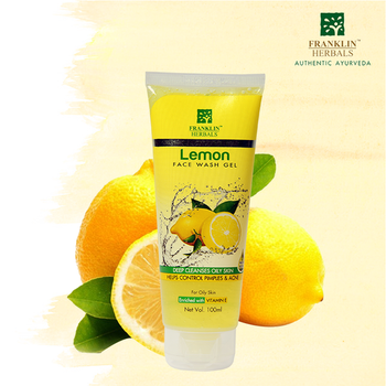 Franklin Herbals 'Lemon Face Wash' that's enriched with lemon & neem extracts, deeply nourishes and moisturizes the skin.  It's just for Rs. 100/- & a few days of regular use will bring an impactful glow on face, so why not try it..!!  Shop Now: https://bit.ly/2HRalIn  #FranklinHerbals #gel #monsoonessential #lemon🍋 #neem🌿 #haldi #facewash #lemonfacewash #citricacid🍋 #aloe #vera #herbal #herbals #herballife #herbalproducts