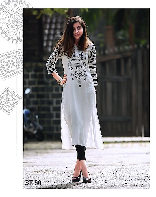#kurtis #ladieskurti #lightnbrightcolors #girlfasion  #stylishclothes #Partywear #partywearkurti #comfortable #girlsshopping  #ladiesfashiononline #simplenstylish #Denim  #looktoimpress Know more Details please whatsapp on  +919820936178
