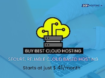 Cloud hosting is the latest form of hosting that has become extremely popular over the past few years. 2GBHosting offers an extensive list of cloud hosting plans that can provide secure and scalable service for all your domains. Visit us today to learn more! 24/7 Technical Support.  https://www.2gbhosting.com/cloud-hosting  #cloudhosting #cloudwebhosting #cloudhostingservices #cloudhostingfree #Bestcloudhosting #2gbhosting