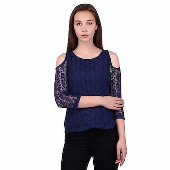 Jaconet Women's Casual Top | Stylish Cotton Net Blue Top for Women Material : Cotton Net , Neck : U Neck , Shoulder : 3/4 Shoulder Available In These Sizes- S, M, L, XL, Machine wash ,Wash Seperately in Cold Water  https://www.amazon.in/dp/B07FZ4CCVD  #CasualTop #CottonTop #BlackTop #bluetop #stylishTop