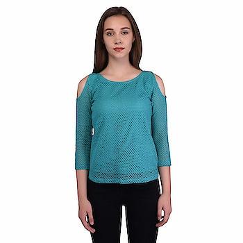 Jaconet Women's Casual Top | Stylish Cotton Net Blue Top for Women Material : Cotton Net , Neck : U Neck , Shoulder : 3/4 Shoulder These Sizes- S, M, L, XL, Machine wash ,Wash Seperately in Cold Water  https://www.amazon.in/dp/B07FZ7QC82  #CasualTop #CottonTop #BlackTop #bluetop #stylishTop