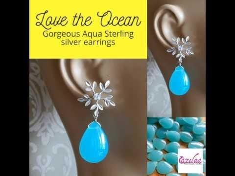 Get your hands on these gorgeous pair of sterling silver earrings only at www.azilaa.com #myazilaa #azilaa #earrings #silver #handmade #artisan #loveness #share #like #girls