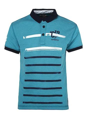 Monte Carlo - Boys Green Printed Polo T-shirt  Link: https://bit.ly/2AVJ35K  #MonteCarlofashion #fashiondiaries #roposo #mc #polotshirt #Printedtshirt #roposodiaries