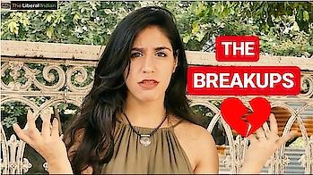 TYPES OF BREAKUPS | TLI | Ft. Bhakti Anand  #girlfriend #girlfriendgoals #boyfriend #vines #viner #funnymeme #funnyvideo