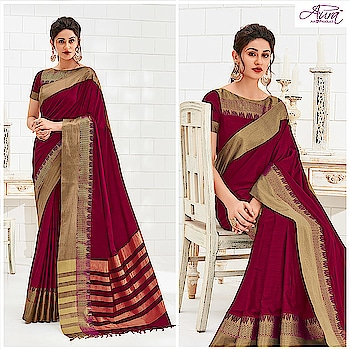 Turn heads this festive season in this pink saree, fancied with an elegant border.  Shop now >>http://bit.ly/2nyGZqE   #saree #wedding #indian-festival #designer-saree #weddingdesigner #indiansaree #indianethnic