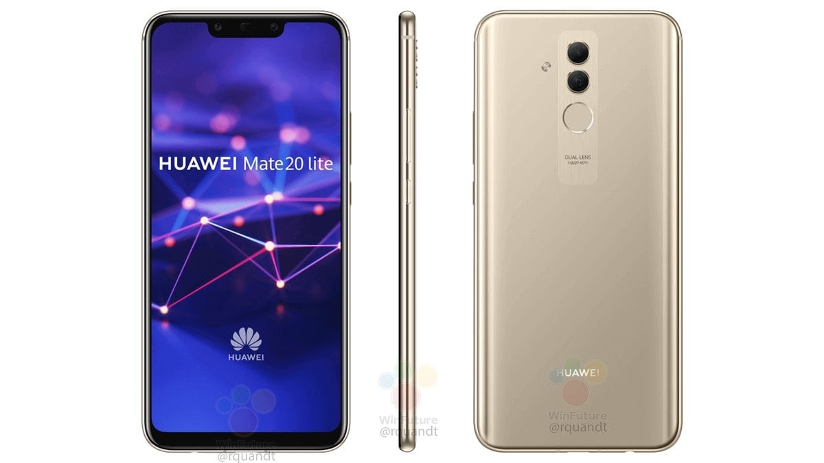 Huawei Mate 20 Lite new renders leaked along with detailed specs click the link to check out the details https://bit.ly/2B8N7Qa  #leaks #technology #tech #technews #android #gadgets #like #huawei