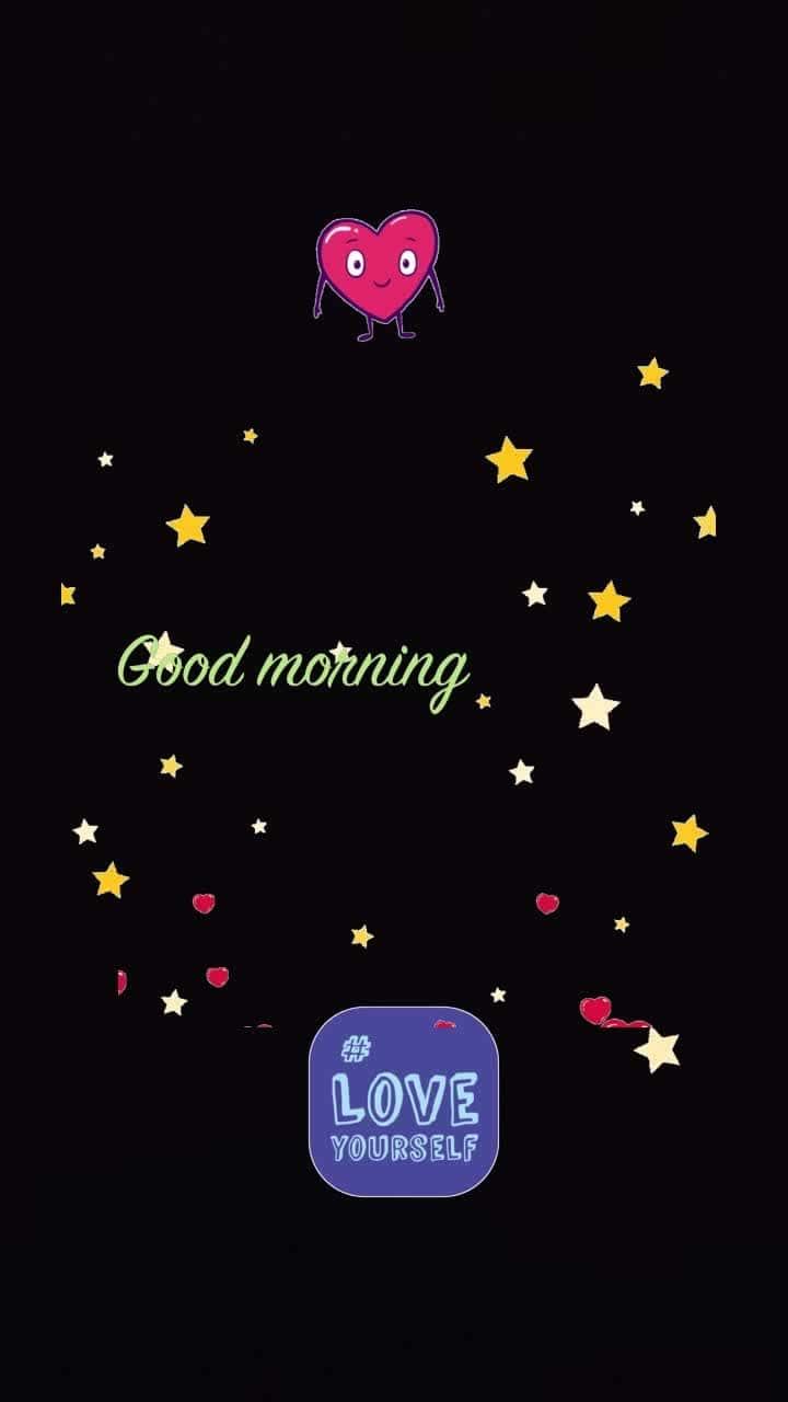 gm #stars #iloveyou #hearts #loveyourself