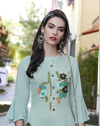 Stunning Designer Ready-made Long Kurti...💗 Price:- 1550/- To Order Whats-app us (+91) 8097909000 * * www.nallucollection.com * * #kurtis #kurti #onlineshop #onlinekurtis #kurtisonline #dress #indowestern #ethnicwear #gowns #fashion #ethnic #womenwear #style #stylish #love #socialenvy #beauty #beautiful #pretty #swag #pink #design #styles #outfit #online-shopping #indianwear #happyvives #loveness