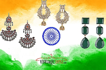 Let freedom never perish in your hands. Happy Independence Day !From Team Vintage desi! Shop for your favorite designer earrings and get 10% off when you sign up for our newsletter . Pearl white earring- https://vintagedesi.com/collections/jewellery-alpha-desc/products/amoha-gold-earrings Green Earrings - https://vintagedesi.com/products/green-earrings Silver earrings- https://vintagedesi.com/collections/jewellery-alpha-desc/products/crimson-glass-cut-earrings #earrings #independenceday #weshipworldwide