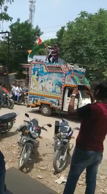 15 August rally in my house area.....