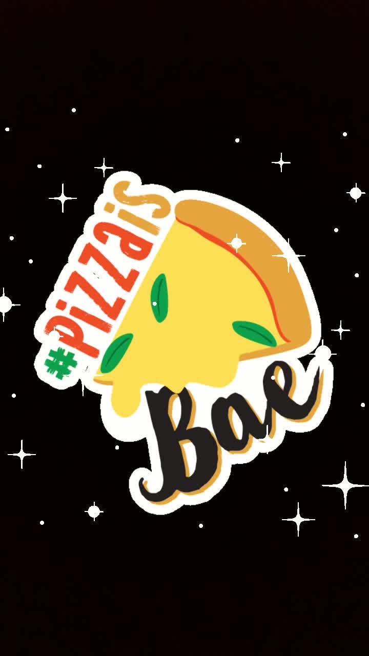 #pizzaisbae #glitter