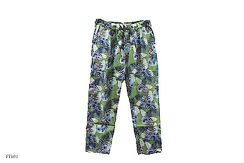 Green colour Linen Trouser / Pant with Flower Print - Ankle Length #Fashiontiara #fashion #fashiondiaries #roposo-fashiondiaries #latestStyle #latestfashion #women-branded-shopping #capris #trousers #pants #multicolor  #westernwear  #decent #beautifulwoman #casualwear #women-clothing #clothes #colorfulcollection  #charming #onlinestore #online-shopping #my-collection #rainyseason #floral #printed  To Buy What's app on 9820408112