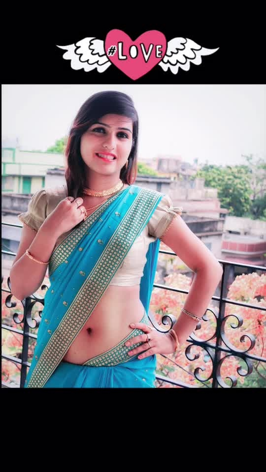 Rocking the blue saree . . . #saree #saree-in-new #fashion #women-fashion #fashionblogger #abs #midriff #bare #navel #ootd #ootdfashion #love #location #outfit #india #indian #diva #hot #sexy #curves #expose #ethnic #ethnic-wear #navelhot #stomach #diaries #girls #ropo-girl #love