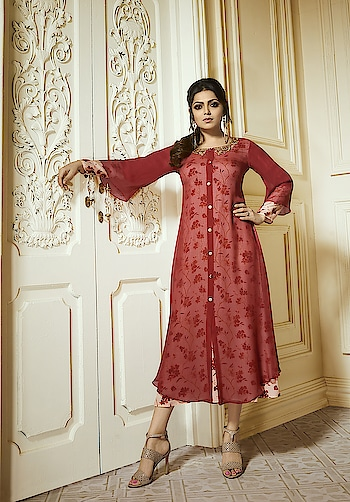 Enhance Your Beauty Wearing This Designer Ready-made Kurtis...💗💗 Price:- 1550/- To Order Whats-app us (+91) 8097909000 * * www.nallucollection.com * * #kurtis #kurti #onlineshop #onlinekurtis #kurtisonline #dress #indowestern #ethnicwear #gowns #fashion #ethnic #womenwear #style #stylish #love #socialenvy #beauty #beautiful #pretty #swag #pink #design #styles #outfit #shopping #offeroftheday