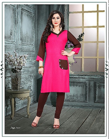 Fabric :- Rayon Work :- Plain  Buy Now :- https://tinyurl.com/y7cysrlj  Whats App :- +91 7621863000  #kurti #partywear #designer #casulwear #indiankurtis