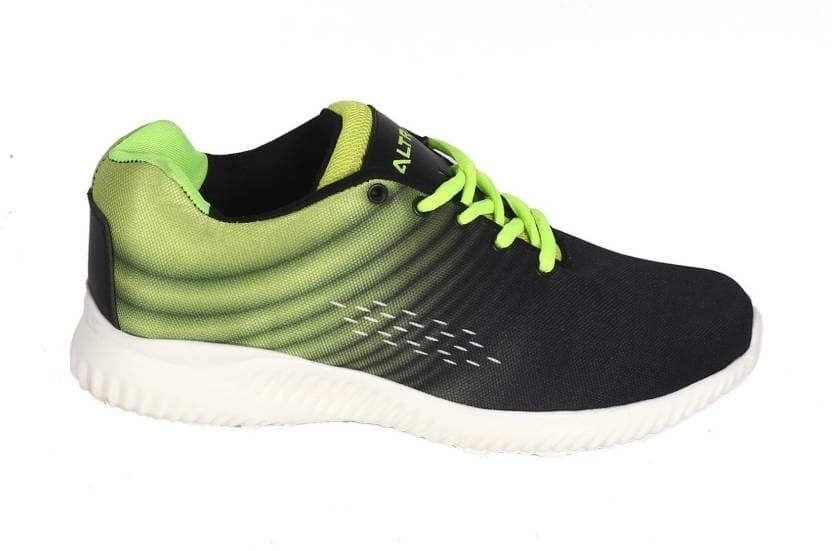 Altra Lace-Up Black & Green stylish Casual Sports Shoes for Men (Size- 10 ) Walking Shoes For Men  (Black, Green)  https://bit.ly/2Bqaa9b  #SportsShoes #CasualShoes #WalkingShoes #runningshoes