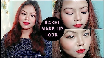 Rakhi make-up tutorial miss VASUNDHARA  watch this video on my YouTube channel   #rakhimakeuplook #rakhiday #rakhispecial #rakhifestival #rakhithreads #rakshabandhanseason #rakshabandhan2018 #rakshabandhan #rakshabandhanmakeup #ropo-makeup #eye-makeup #natural-look #ytcreatorsindia #ytcreator #ytcreator #ytindia #youtubechannel #youtubevideos #gwalioryoutuber