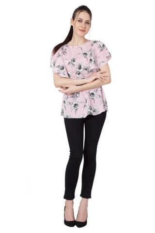 Slenor Women Round Neck Half Sleeve Casual Top  https://bit.ly/2oeii3g Rs: 549  #top #womentops #girlstop