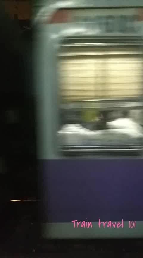 #mumbai #train #mumbailife #mumbailocal #mumbailocaltrain