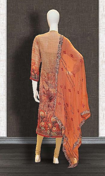 Beige and Orange Georgette Casual Straight Suit  http://www.khojkaladesign.com/casual-wear-suits/beige-and-orange-georgette-casual-straight-suit-17504.html  SKU: KHOJ9026 ₹4,090  #salwarkameez #casualsuit #straightsuit #anarkali #sharara #lehenga #casualwearsalwarkameez #casualsalwarkameez #partysalwarkameez #summer_fashion #summer #designerwear #partywears #heavyembroideredsuits #wedding #marriage #ceremony #bridaldresses #instastyle #khojkala
