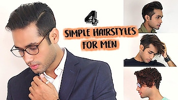 4 SIMPLE Hairstyles For Men With Medium Hair 2018/ Hairstyles For Everyday, Work, Holiday & Party #roposolook #roposolove #soroposolove #soroposo #diy #hair #hairdo #hairstyletips #hairstyleoftheday #haircolour #easytodo #easyhairstyle #quickhairstyles #updo #bun #knotmepretty #indianblogger #indianyoutuber #blogger