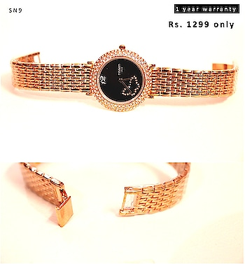 For orders whatsapp on 7773000215 / 9131723123   Cash on Delivery available  ( Rs. 100 now, remaining amount on delivery)   Prepaid (non cash on delivery order) : upto 15% cash back, and free shipping ------------------ Website: www.culturenyou.com  Mobile App – Android and iOS – Culturenyou #watches #watchesonline #luxurywatches #timepiece #dailyoffers #musthave #womenfashion #mensfashion