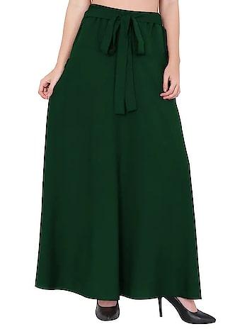 Flared Maxi Skirt  Rs: 599  #womenskirts #skirt #maxiskirt #girlsskirt   https://bit.ly/2PlJXe2