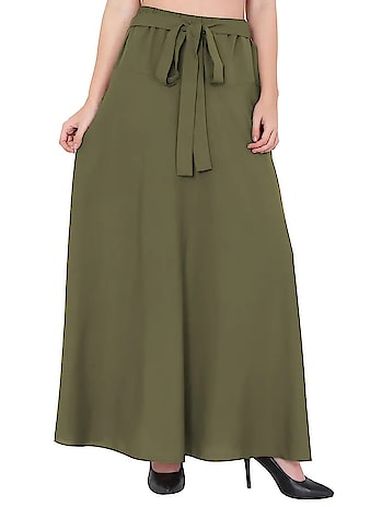 Flared Maxi Skirt  Rs: 599 #womenskirts #skirt #maxiskirt #girlsskirt    https://bit.ly/2PUt0IE