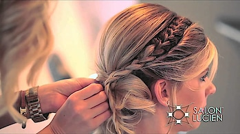 wedding hairstyle for short hairs  #hairstyle  #shorthair #hairdo #hairstyletips