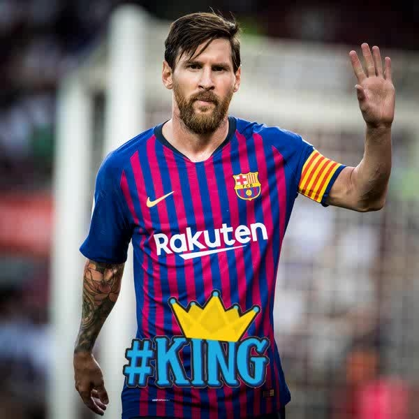 FC Barcelona Captain : Leo Messi #messi #fcb #barcelona #football #leader #legend #captain #king