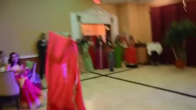 Cute girl dance #weddingfun