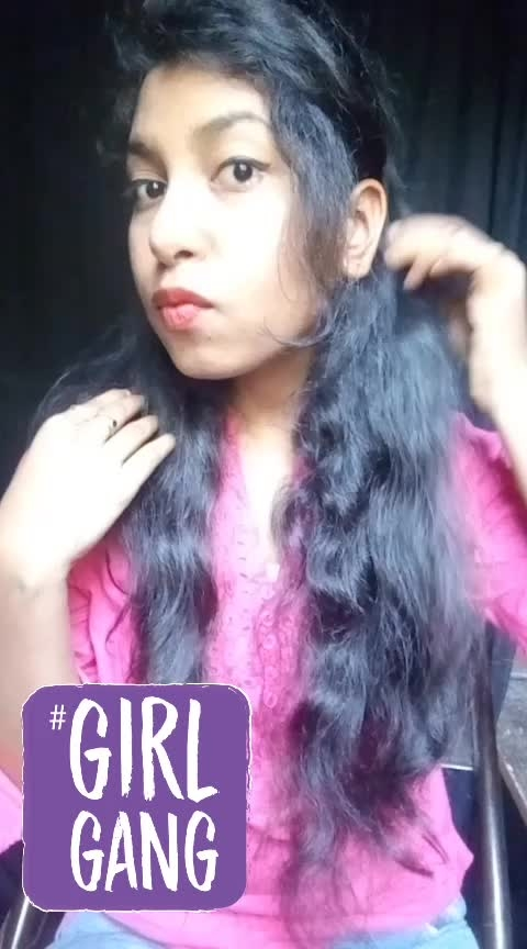 why don't you have boyfriend #shortnails #girlsstuff #coversation #comedy #singlevsmingle #roposo #myootd #mylook #curyhairs #dialogue #vines #lol #hahatv