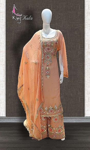 Orange Georgette Sharara Suit  SKU: KHOJ2655 Discounted Price--> ₹6,610  Product Buy Link--> http://www.khojkaladesign.com/sharara/orange-georgette-sharara-suit.html   #womenfashion  #indianwomen #ethnics #fashion #salwarkameez #mydress #womenfashion #weddingsuitsdesigner #designersuits  #salwarkameez #casualsuit #straightsuit #anarkali #sharara #lehenga #casualwearsalwarkameez #casualsalwarkameez #partysalwarkameez #summer_fashion #summer #designerwear #partywears #heavyembroideredsuits #wedding #marriage #ceremony #bridaldresses #instastyle #khojkala