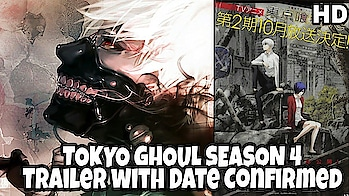 Tokyo ghoul re season 2  (TG season 4) trailer and with release date confirmed 2/10/18  #tokyoghoul #anime #trailer #animation