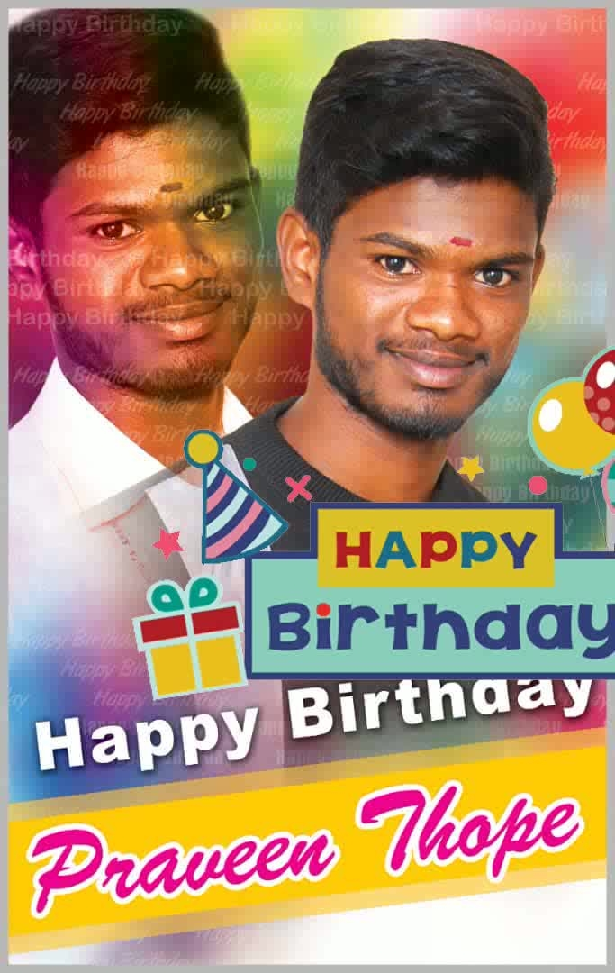 Happy Birthday praveen #happybirthday