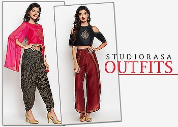 9rasa brings to you it's outfits. Now spend a little less time deciding what to pair with what and order the perfect outfit from https://9rasa.com/collections/sr-outfits  #9rasa #studiorasa #outfits #occasion #occasionwear #contemporary #ethnic #dhotis #kurtas #lehenga #croptop #skirt