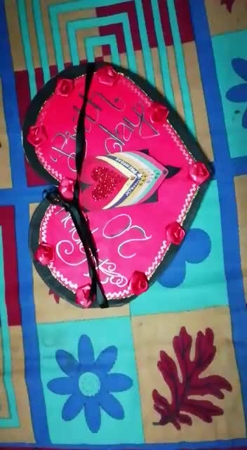 #birthdaygift #birthdaycelebrations #birthdaycake #birthdaygirl #ropo-video #video #videooftheday #roposo-style #card #roposo-style