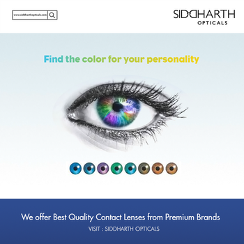 Choose The Best Coloured Contact Lenses Online Now!  Most of the girls are prefer contact lenses. It gives you a stylish look. If you are one of them and looking for the different types of lenses, search online and choose coloured contact lenses online.  Visit - http://www.apsense.com/article/choose-the-best-coloured-contact-lenses-online-now.html  #SiddharthOpticals #Eyewear #Lenses #Spectates #ContactLenses #Optician