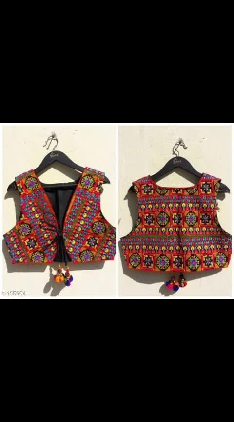 #ajmer  #rangolichannel  #ladiesfashion  #online-shopping  #kotistyle  #kurtitop  #onlineshopinindia   WhatsApp @7014281862   _The traditionally embroidered COTTON -made sleeveless jackets are raging in popularity. Team the multi-colored jackets with long Kurtis or with solid colored shirts and look traditionally beautiful._  Catalog Name: *Rajasthani Koti Vol 10*  Fabric: Cotton  Sleeves: Sleeves Are Not Included  Size: S - 36 in, M - 38 in, L - 40 in, XL - 42 in  Length: Up to 20 in  Type: Stitched  Description: It Has 1 Piece of Jacket  Work: Kutchi Work  Dispatch: 2 - 3 Days  Designs: 13  *FREE SHIPPING*  *CASH ON DELIVERY AVAILABLE* Easy Returns Available In Case Of Any Issues