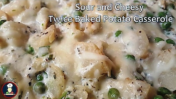 Twice Baked Sour and Cheesy Potato Casserole | Twice Baked Potato Casserole |  Loaded Baked Potatoes | Gluten Free | Double Baked Sour and Cheesy Potato Casserole | American Cuisine   To get this recipe and many more every week subscribe to our Youtube channel, The link is given here: https://www.youtube.com/channel/UCu72ljuuwJVGytVqGS3nPBg/?sub_confirmation=1   Twice Baked Sour and Cheesy Potato Casserole (Loaded Baked Potato Casserole) can be served as a side dish with any type of meal. Everyone loves this dish including kids because of its cheesy texture. It looks really rich and delicious when you serve to your guests and they will keep asking for the recipe. Add or reduce the ingredients as per your taste and flavor, They taste amazing.   Follow the recipe and Learn how to make Twice Baked Sour and Cheesy Potato Casserole (Gluten Free).    In our videos, you will find, detailed step by step recipes with tips and tricks and mistakes to avoid while cooking.   Try this recipe and share your experience with us in the comments section below.   Please do LIKE, SHARE, SUBSCRIBE!  Subscribe to Big Fooodies channel @ https://www.youtube.com/channel/UCu72ljuuwJVGytVqGS3nPBg/?sub_confirmation=1  Potato Recipes / Aloo Recipes / Alu Recipes / Potato based Foods: https://www.youtube.com/watch?v=it0pG5lvDrM&list=PLgISX83ERjqvzw3xwWvlmrB07V-HhkUbS  Party Foods / Celebration Foods recipes : https://www.youtube.com/watch?v=eM6ayn3PVWw&list=PLgISX83ERjqvWvTdfTfJ2chwukCrLbfur  Winter Special Foods : https://www.youtube.com/watch?v=vHGyLoosf-0&list=PLgISX83ERjquh-KIsvXORwPSNj6EhU8VB  Chinese Style Food Recipes:  https://www.youtube.com/watch?v=ucQbj8t8DVI&list=PLgISX83ERjquqQ8i-WNgYRkpyJc-xPguT   Connect with Big Fooodies on Social Media:  Facebook: https://www.facebook.com/Big-Fooodies-1545166285582259 Instagram: https://www.instagram.com/big.fooodies/ Twitter: https://twitter.com/BigFooodies Google+: https://plus.google.com/108185680323591223388 Tumblr: https://www.tumblr.com/blo