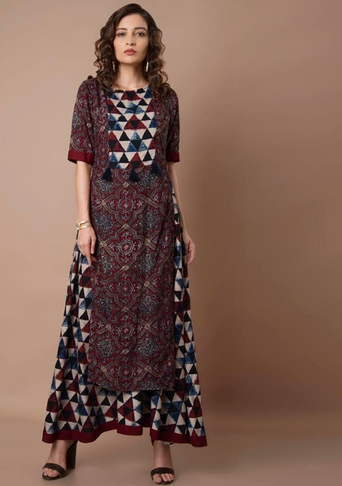 Comfort-wear for this extremely humid season. Get this Maroon printed tunic with attached skirt at FLAT 20% OFF now: https://goo.gl/h5QsUw  #fashion #lookbook #womenwear #ethnic #bestdeals #buy #outfit #fashionupdate #ootd #wiw #bestdresses #bespoke #bridesmaids #bride #wedding #sangeet #asianbride #indianwedding #marraige