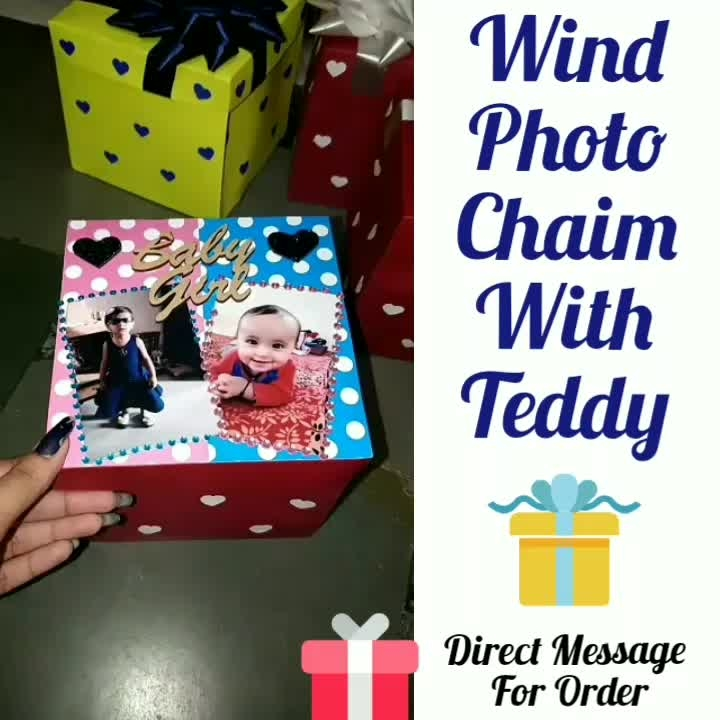 ❣️ Photo Wind Chaim😍  With Teddy😍 Handmade Gift💖 😍 👉💌Dm for Order 👉For order send Name 👉Address & pin cod 👉No COD🚷🤗 ❣️❣️❣️❣️ Direct Message For Order🎁 @photo_art_store @gifts_shopping_time  @gift_online_store  @gift_personalized_magazine Special🎁🎁🎁🎁🎁😘 😍SPECIAL PERSON😍 Keep Ordering😍😍 Birthday Couple Friendship Family Anniversary 😍😍 😍 DM for Order  #surprises#specialgift#happybirthday#birthdaygift #birthdaygifts#customisedgifts#uniquegifts #giftsforher#giftsforhim#giftsforcouple #anniversarygifts#anniversarygift #personalisedcards#greetingcards#handmadegift #handmadegifts#handmadecard #womanentrepreur#femaleentrepreneur#giftideas #photo_art_store #gifts_shopping_time #gift_online_store