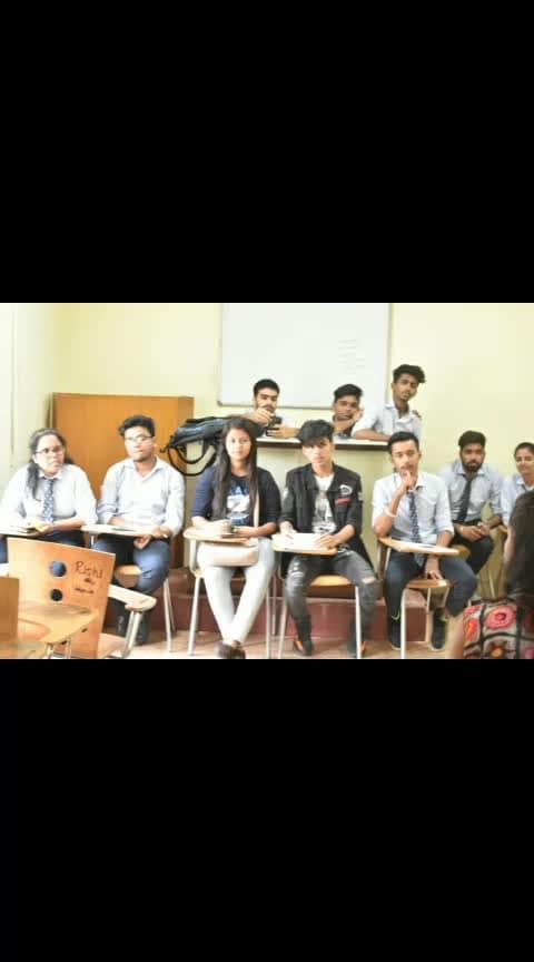 Judging At College for Mr & Mrs freshers college Audition's #freshers #family ❤😁 #iamrashidk #iamrashidkhanroposo @roposotalks #judging #mrandmrs