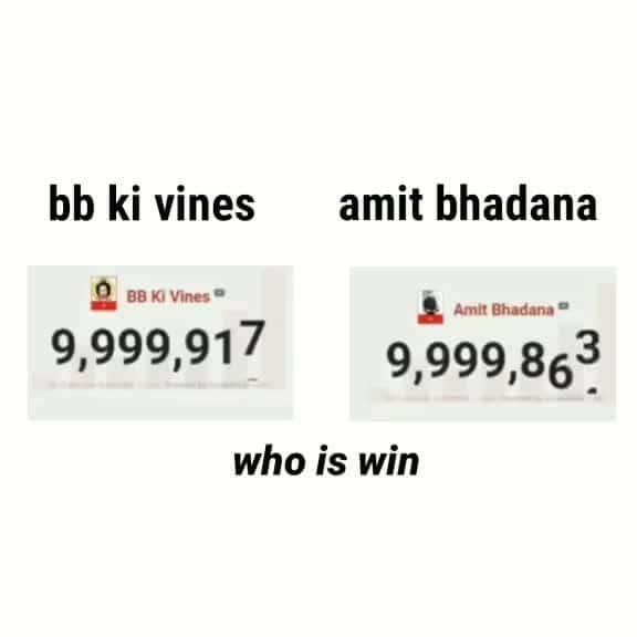 BB vs. Amit