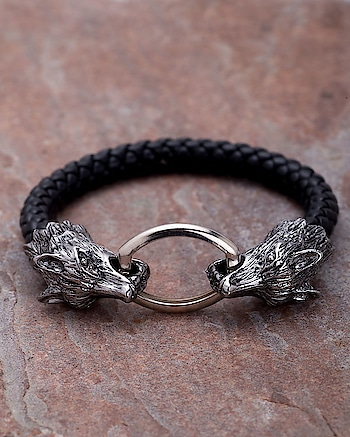Punk Style Fox Head Black Leather Bracelet For Men From Dare by Voylla  Jewel Code:400921  https://www.voylla.com/mens-jewellery/mens-bracelets?sort=pop  #braceletstacks #men-fashion #menbracelet #men-looks #trendybracelets #voylla #fashonista #onlineseller #menonly #online-shopping #onlinejewelry #onlinedeals #menjewelry #menjewellery #menshopping #menfashionpost #classyness