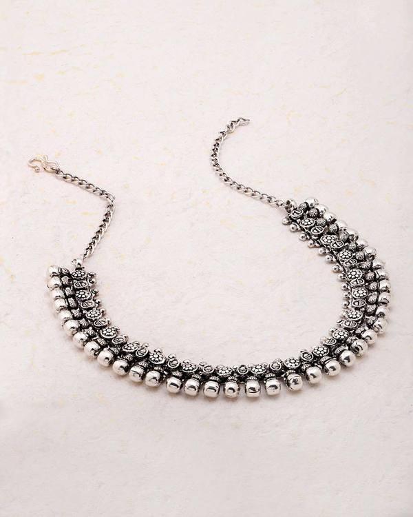 Boho Style Oxidized Bawara Necklace Jewel Code: 503509  Click for more: https://www.voylla.com   #oxidizedjewelry #oxidizedjewellery #silvernecklace #boho #bohostyle #jewelrydesign #neckpiece #woman-fashion #voylla #voyllajewellery #trendynecklace #trendynecklaces #voylla #voyllafashions #newnecklace #onlinenecklace #online-shopping #onlinejewelry #onlinejewellery