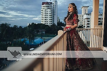 Whether it's a wedding or an anniversary, there are some occasions that deserve a custom-made outfit. At IndiaEmporium, we bring the couture to you, no matter where you are.  To order or enquire, Call or WhatsApp @ +91-885-135-6382 (US) +1-302-261-9333 (UK) +44-20-3290-3332  #IndianWedding #WeddingPhotographer #WeddingInspiration #Lehenga #FashionBlogger #IndianBride #WeddingDayPhoto #madetoorderoutfits #ethnicwearonline #custommadedresses