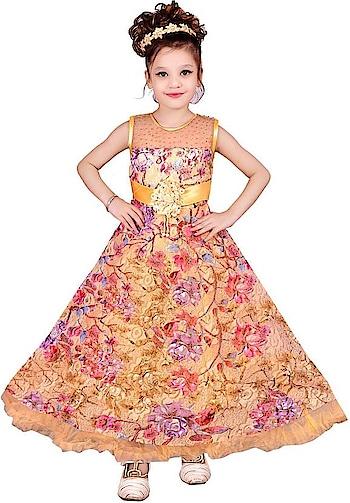 Safina Collection Girls Maxi/Full Length Casual Dress  (Orange, Sleeveless)  Fabric: Net Color: Orange Character: No Character Type: Gown Dress Maxi/Full Length Dress  #kids #dresses #designer #princess #stylish #fashionable #kidsfashion #designerfrock #frock #gown #shortdress #comfortable #casual #partywear   Buy Now:- https://bit.ly/2MyA8aT