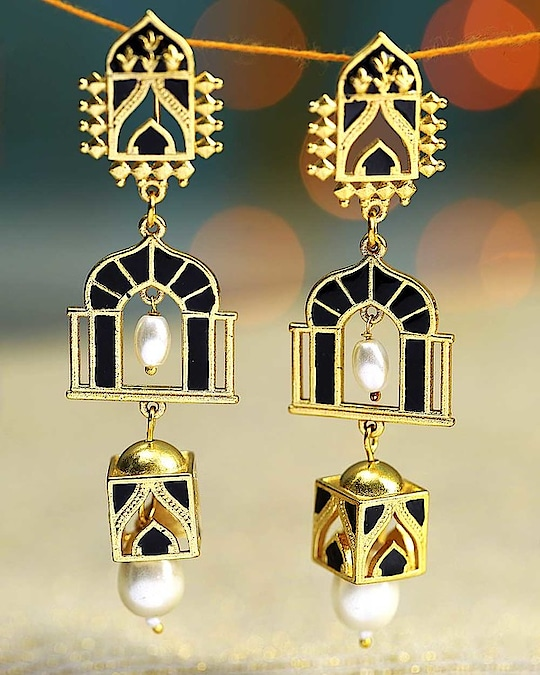 Drops of Splendor Aafreen Earrings Jewel Code: 663777  For more: https://www.voylla.com/  #earrrings #earring #indianwear #shaadiseason #earringdesign #jewelryforsale #jewelrystore #jewellerydesign #afreen #earringscollection #jewellerystudio #jewelrycollection #voylla #voyllacollection #onlineearning #onlineearringsforwomen #indianshop #ethnic-wear #ethnicfashion #girlswear #traditionallook #traditionaljewellery #womens-fashion